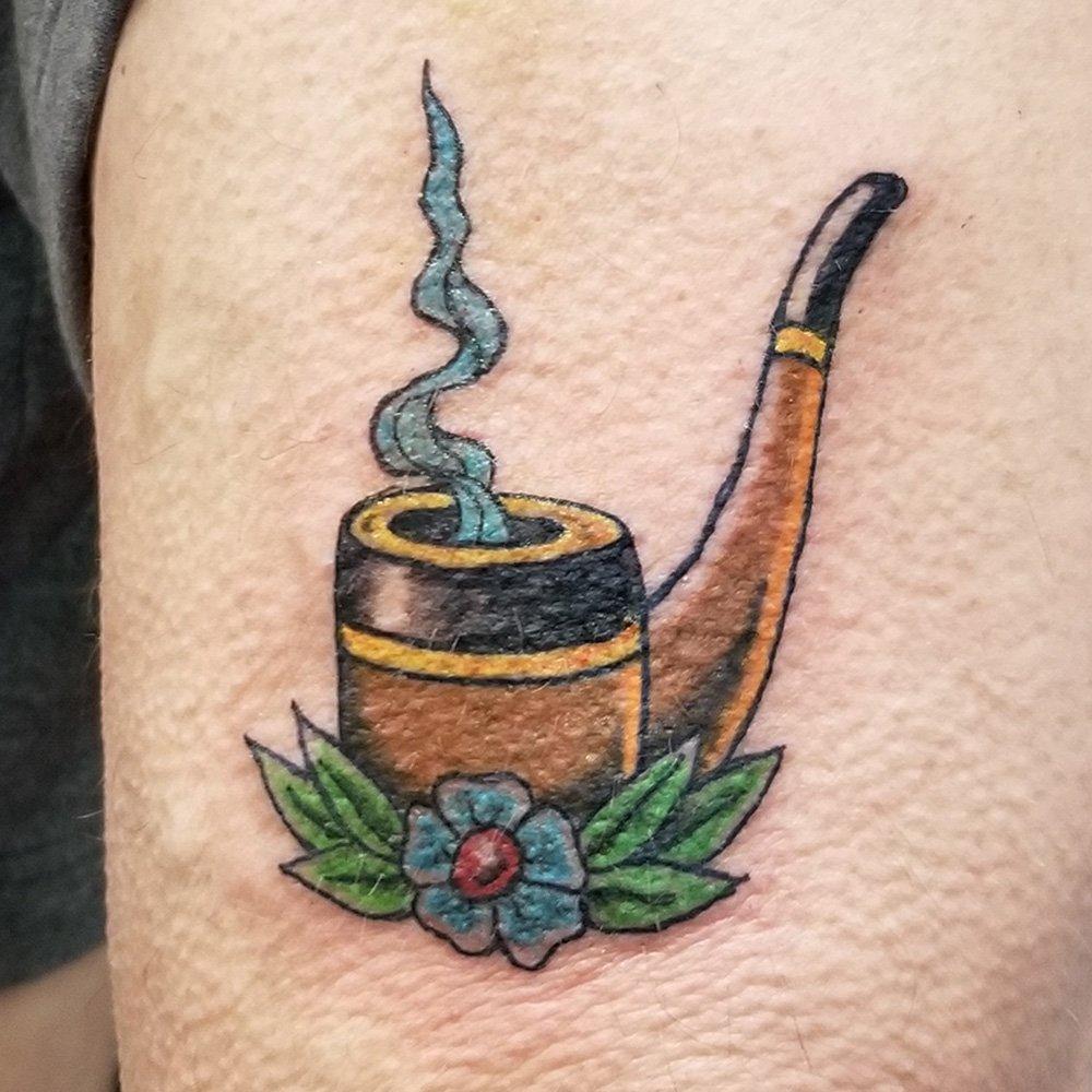 Smokin' Pipe tattoo